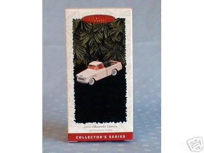 1996 Hallmark~1955 CHEVROLET CAMEO All American Trucks #2 Christmas Ornament