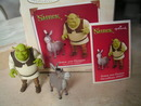 SHREK & DONKEY Hallmark 2003 set of 2 Ornaments