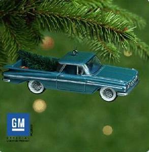 1959 CHEVY  EL CAMINO Truck Hallmark 2001 Ornament