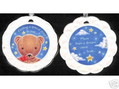 Celebrating Adoption...Celebrating Family 2002 Hallmark Porcelain Ornament