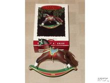 Hallmark ROCKING HORSE 1994 Ornament #14 in Series