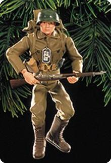 G.I. JOE Action Soldier 35th Anniversary Hallmark Ornament 1999