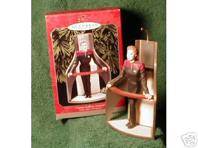 Captain Kathryn JANEWAY Star Trek Hallmark 1998 Ornament