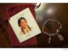 American Girl KAYA Charm & Bracelet Hallmark