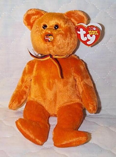 TY MASTERCARD III (3) M.C. BEANIE BABY BEAR