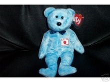 Ty NIPPONIA Beanie Baby JAPAN Exclusive Bear