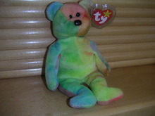VIBRANT GARCIA Ty Beanie Baby Bear Mint with