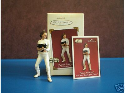 Star Wars Attack Clones Padme Amidala Hallmark 2003 Ornament