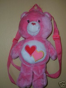 Care Bears LOVE-A-LOT Plush BACKPACK Back Pack