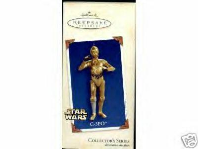 STAR WARS C-3PO 7th in Series 2003 Hallmark Ornament
