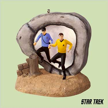 STAR TREK ~City on the Edge of Forever~ Hallmark 2004 Christmas Ornament