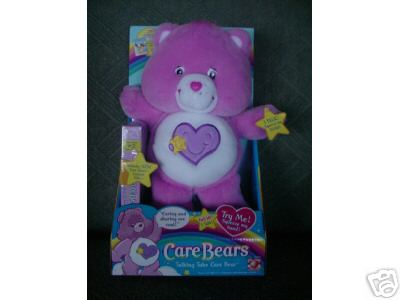 Talking TAKE CARE Bear w/ VIDEO 13