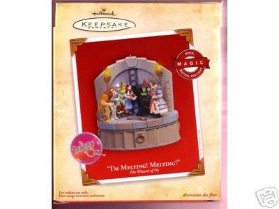 I'M MELTING 2004 WIZARD OF OZ MAGIC Hallmark Ornament