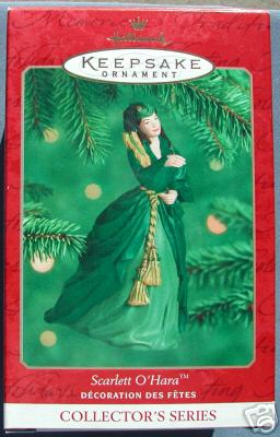 SCARLETT O'HARA #4 Gone with the Wind Hallmark 2000