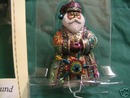 NEW! MEXICO SANTA Around the World Hallmark 2004 Ornament