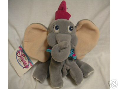DUMBO Disney Bean Bag Flying ELEPHANT
