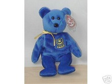 POMPEY* Ty Bear Beanie Baby UK Exclusive