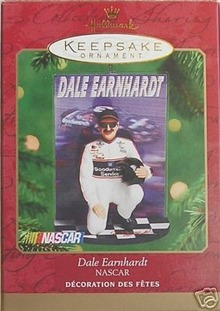 Dale Earnhardt NASCAR #8 Hallmark Ornament 2000