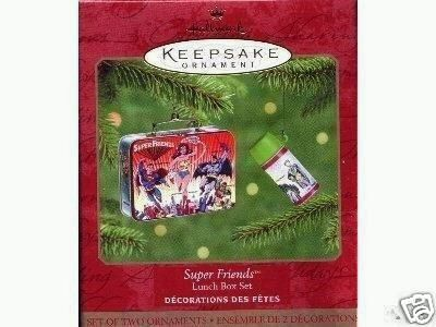 Superfriends Lunch Box 2000 Hallmark Ornament Lunchbox