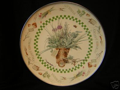Hallmark MARJOLEIN BASTIN Nature's Sketchbook Enameled Plate