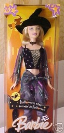 Halloween Star BARBIE Witch Doll New & RARE!