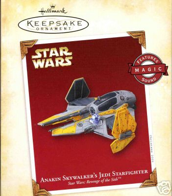 Anakin Skywalker's Jedi Starfighter~Star Wars Hallmark 2005