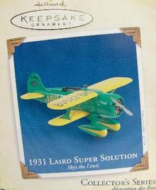 1931 Laird Super Solution~Hallmark 2005 Ornament~Sky's the Limit #9