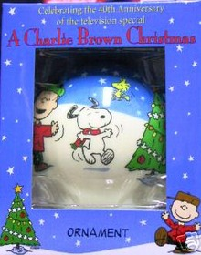 A CHARLIE BROWN CHRITMAS 40 years Ornament Hallmark 2005