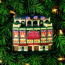 WRIGLEY FIELD Lighted Ornament Department 56 Chicago Cubs