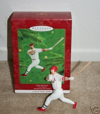 2000 Hallmark Ornament Mark McGwire Cardinals #5