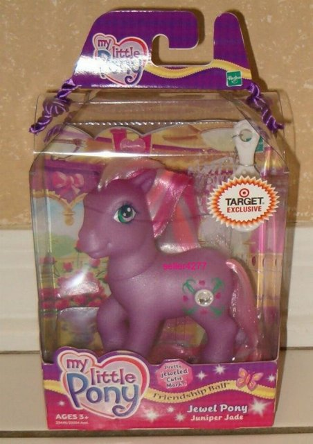 My Little Pony JUNIPER JADE Jewel Pony Target Exclusive