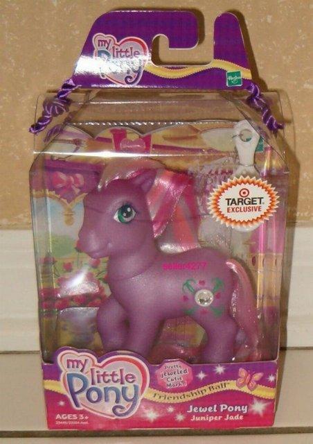 My Little Pony JUNIPER JADE Jewel Pony Target Exclusive