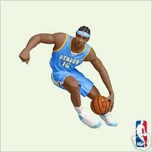 CARMELO ANTHONY NBA Nuggets Hallmark 2005 Ornament