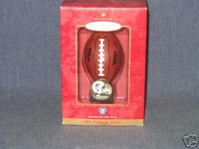 2000 Hallmark NFL MIAMI DOLPHINS Football Ornament