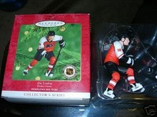 Hallmark 2000 Ornament Eric Lindros 2nd Hockey greats
