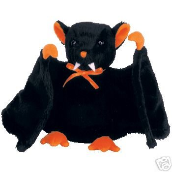 Bat-e the bat Ty Beanie Baby Babies Halloween
