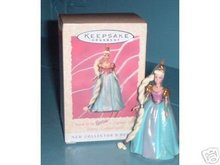 Rapunzel BARBIE 1st in the Children's Collector Series Hallmark Ornament 1997