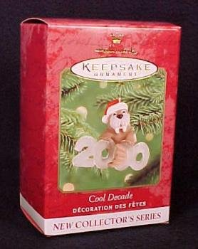 COOL DECADE #1 Hallmark 2000 Christmas Ornament~Cute Walrus
