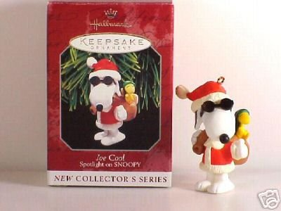 PEANUTS SNOOPY ~JOE COOL Hallmark Ornament 1st Series
