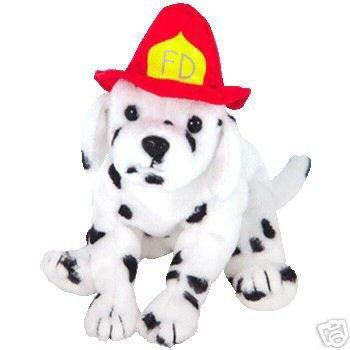 TY Beanie Babies FIREPLUG the Dog Dalmatian Beanie of Month~NEW!