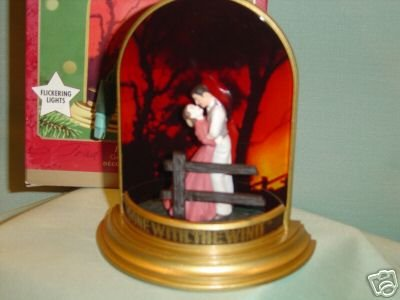 New! Gone With the Wind FAREWELL SCENE Scarlett/Rhett Hallmark Ornament 2001
