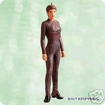 Star Trek Enterprise Sub-Commander T'POL Hallmark 2003