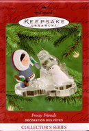 HALLMARK 2000 Frosty Friends & Seal #21 ornament