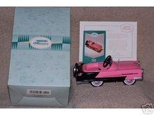 1956 Garton Pink KIDILLAC- Cadillac Pedal Car Hallmark Kiddie Car Classics