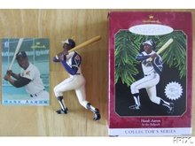 HANK AARON Hallmark 1997 Ornament 2nd At the BallPark