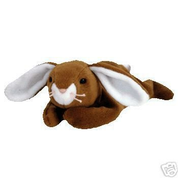 Ty EARS Beanie Baby Rabbit Easter Bunny- New