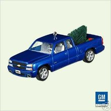 2003 CHEVY SILVERADO SS TRUCK~2005 Hallmark Christmas Ornament
