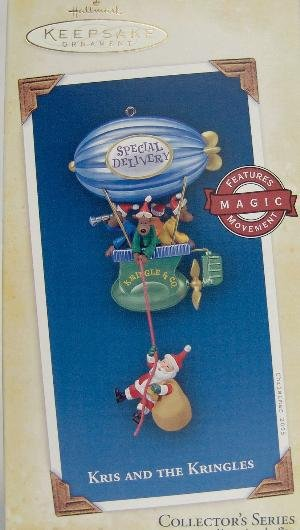 Magic KRIS and the KRINGLES 2005 Hallmark Christmas Ornament #5
