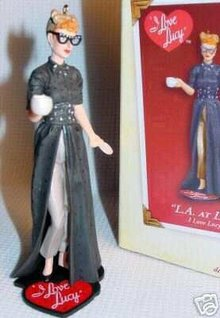 I LOVE LUCY Movie Star L.A. AT LAST 2005 Hallmark Christmas Ornament