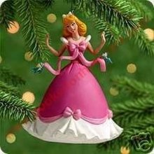 Walt Disney DRESSING CINDERELLA Hallmark 2000 Ornament
